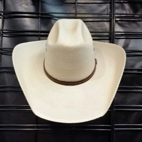 Custom Order Hair on palm cattleman hat